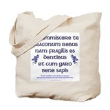 Affairs of dragons (latin) Totes & Shopping Bags