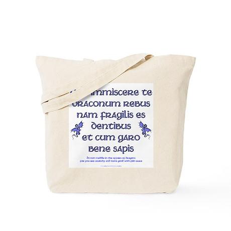 Affairs of Dragons (Latin) Tote Bag