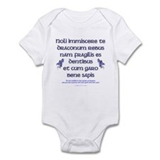 Affairs of Dragons (Latin) Infant Bodysuit