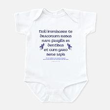 Affairs of Dragons (Latin) Infant Bodysuit