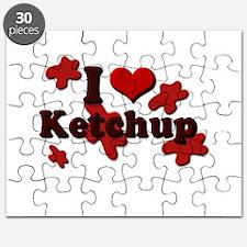 i love ketchup.psd Puzzle