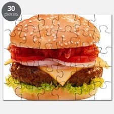 yummy cheeseburger photo Puzzle