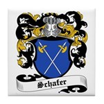 Schafer Coat of Arms Tile Coaster