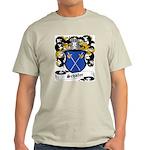Schafer Coat of Arms Ash Grey T-Shirt