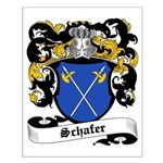 Schafer Coat of Arms Small Poster
