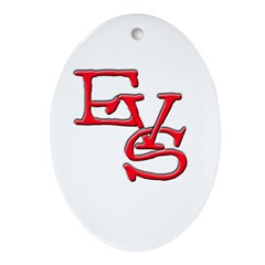 EVS Oval Ornament