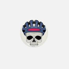 cycling skull copy.jpg Mini Button (10 pack)