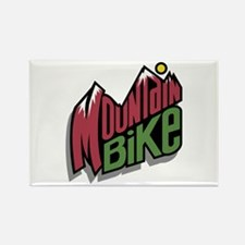 mountain bike graphic copy.jpg Rectangle Magnet (1