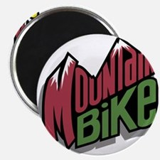 "mountain bike graphic copy.jpg 2.25"" Magnet (100 p"
