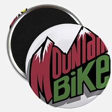 """mountain bike graphic copy.jpg 2.25"""" Magnet (10 pa"""