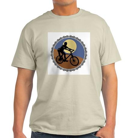 mountain biking chain design copy.jpg Light T-Shir