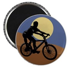 "mountain biking chain design copy.jpg 2.25"" Magnet"