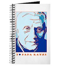 Papa Ratzi New Pope Benedict Blue Journal