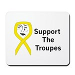 Support the Troupes  Mousepad