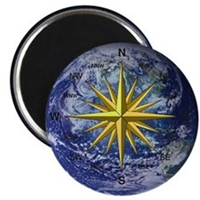 Earth Compass Magnet