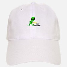 alien peeing copy.jpg Baseball Baseball Cap