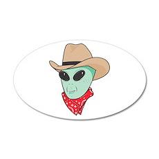 cowboy alien copy.jpg Wall Sticker