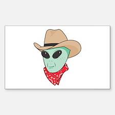 cowboy alien copy.jpg Decal