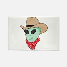 cowboy alien copy.jpg Rectangle Magnet (10 pack)