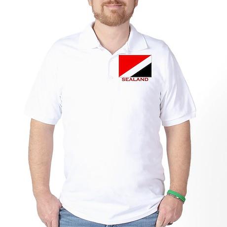 Flag of Sealand Golf Shirt