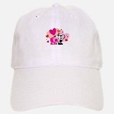 cow and pig valentine.jpg Baseball Baseball Cap