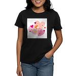 cute little cupid.jpg Women's Dark T-Shirt