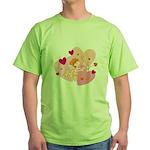 cute little cupid.jpg Green T-Shirt