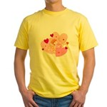 cute little cupid.jpg Yellow T-Shirt