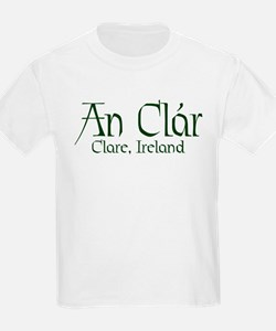 County Clare (Gaelic) Kids T-Shirt