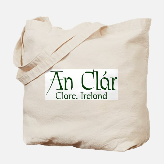 County Clare (Gaelic) Tote Bag