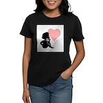 thinking of love.jpg Women's Dark T-Shirt