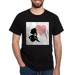 thinking of love.jpg Dark T-Shirt