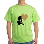 thinking of love.jpg Green T-Shirt