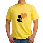 thinking of love.jpg Yellow T-Shirt