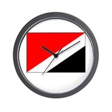 Sealand Flag Picture Wall Clock