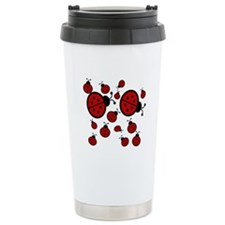 Lady Bugs Travel Mug