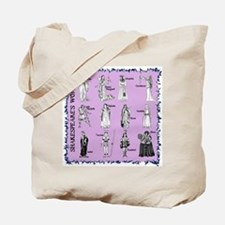 Shakespeare's Women Square Tote Bag