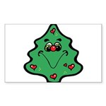 cute happy christmas tree.png Sticker (Rectangle 5