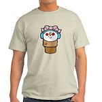 cute little girl snow cone.png Light T-Shirt
