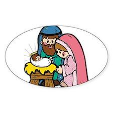 cute nativity scene.png Decal