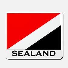 Sealand Flag Gear Mousepad