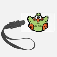 3-cluck-celiac-disease.png Luggage Tag