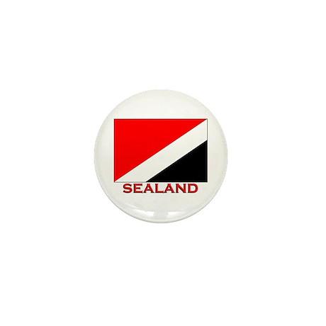 Sealand Flag Merchandise Mini Button