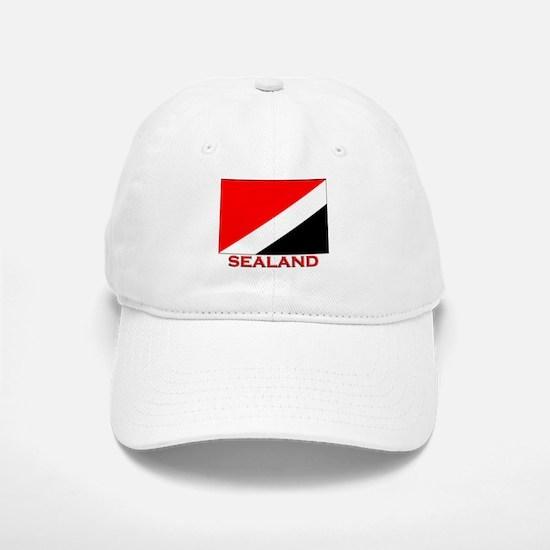 Sealand Flag Merchandise Baseball Baseball Cap