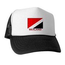 Sealand Flag Merchandise Trucker Hat