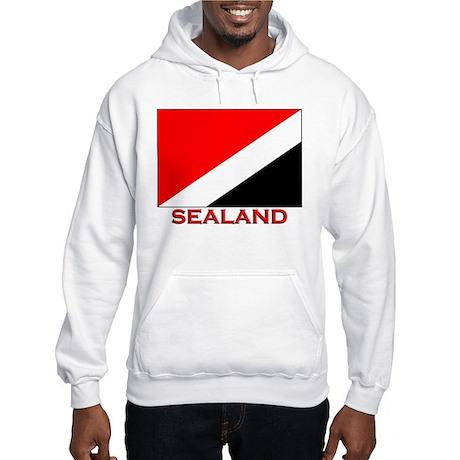 Sealand Flag Merchandise Hooded Sweatshirt