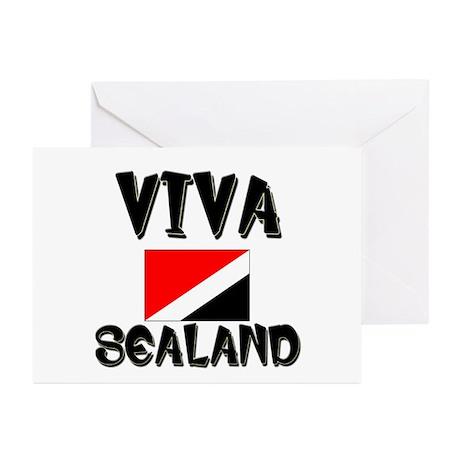 Viva Sealand Greeting Cards (Pk of 10)