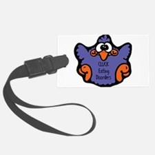 cluck-eating-disorders.png Luggage Tag