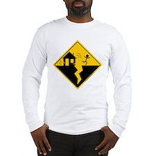 Earthquake Warning Long Sleeve T-Shirt