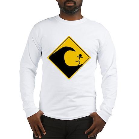 Tsunami Warning Long Sleeve T-Shirt